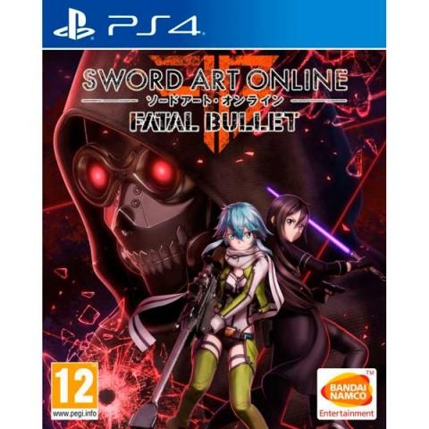 Фотография товара видеоигра для PS4 . Sword Art Online: Fatal Bullet (40067622)