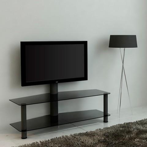 Фотография товара фирменная подставка для ТВ MetalDesign 525-1 (черн-дымч) (50033969)