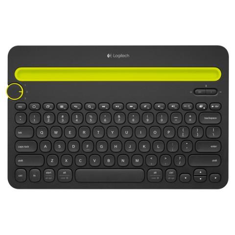 Фотография товара клавиатура для микрокомпьютера Logitech K480(920-006368) (50041596)