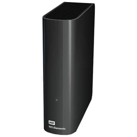 """Фотография товара внешний жесткий диск 3.5"""" WD Elements Desktop 3TB (WDBWLG0030HBK-EESN) (50041750)"""