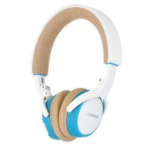 Фотография товара наушники Bluetooth Bose SoundLink On-Ear White/Blue (50042388)