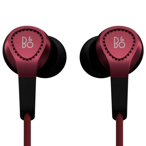 Фотография товара наушники внутриканальные Bang & Olufsen BeoPlay H3 Red (50042404)