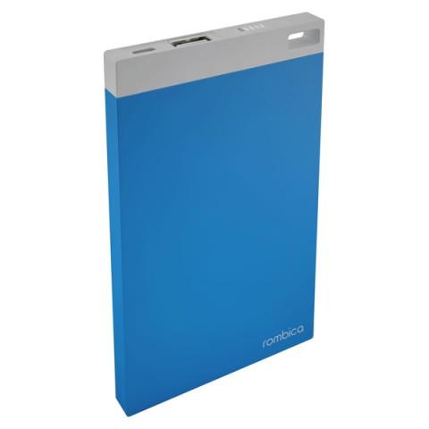 Фотография товара внешний аккумулятор Rombica Neo NP60 Blue 6000 mAh (50042649)