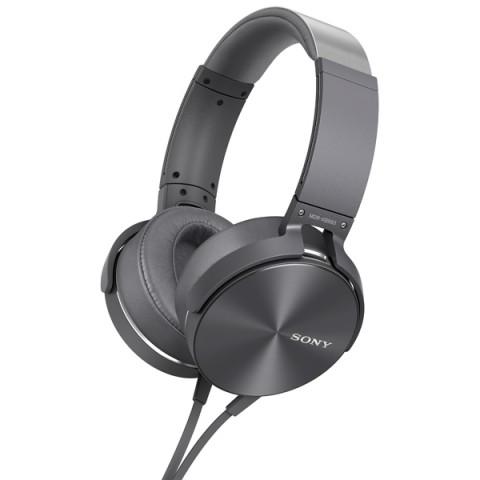 Фотография товара наушники полноразмерные Sony MDR-XB950AP Gray (50042705)