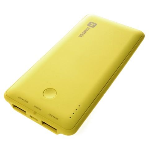Фотография товара внешний аккумулятор Harper PB-6001 Lime 6000 mAh (50043039)