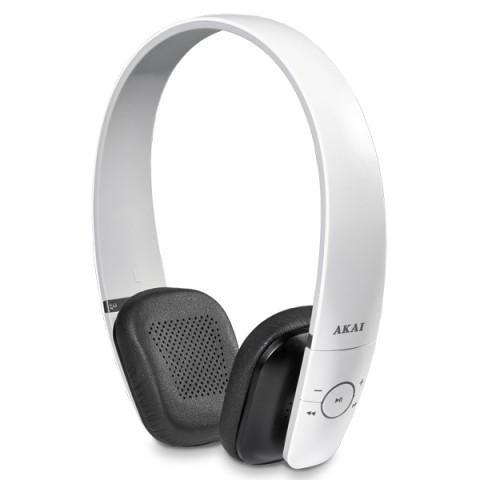 Фотография товара наушники Bluetooth Akai HD-121W (50043293)