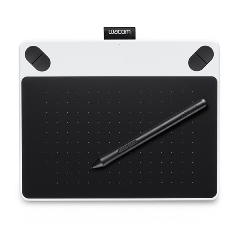 Фотография товара планшет Wacom Intuos Draw Pen Small White (CTL-490DW-N) (50043607)