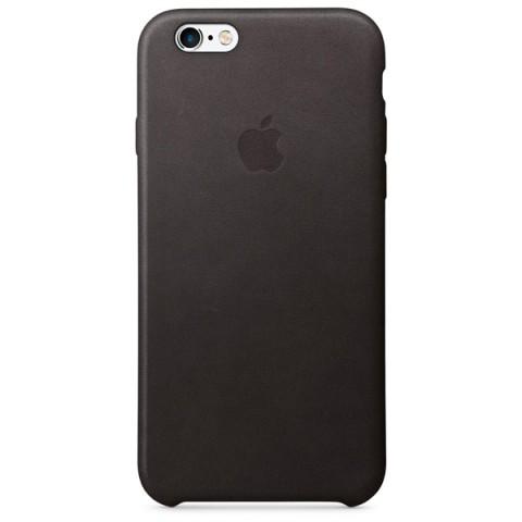 Фотография товара чехол для iPhone Apple iPhone 6/6s Leather Case Black (50043632)