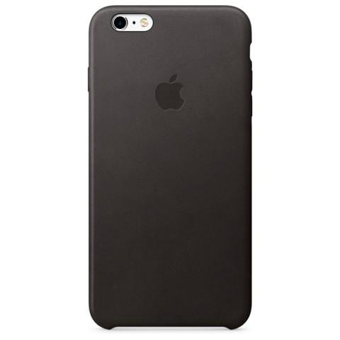 Фотография товара чехол для iPhone Apple iPhone 6s Plus Leather Case Black (50043633)