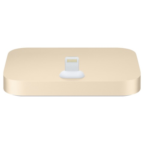 Фотография товара док-станция для телефона Apple iPhone Lightning Dock Gold (50043636)