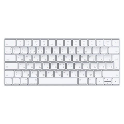 Фотография товара клавиатура беспроводная Apple Magic Keyboard (MLA22RU/A) (50043833)