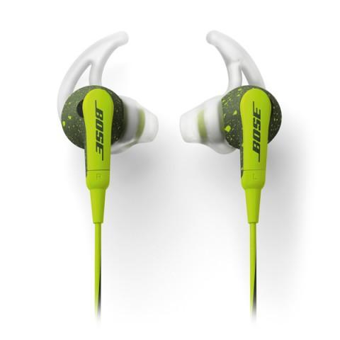 Фотография товара спортивные наушники Bose SoundSport In-Ear Energy Green to Apple (50044145)