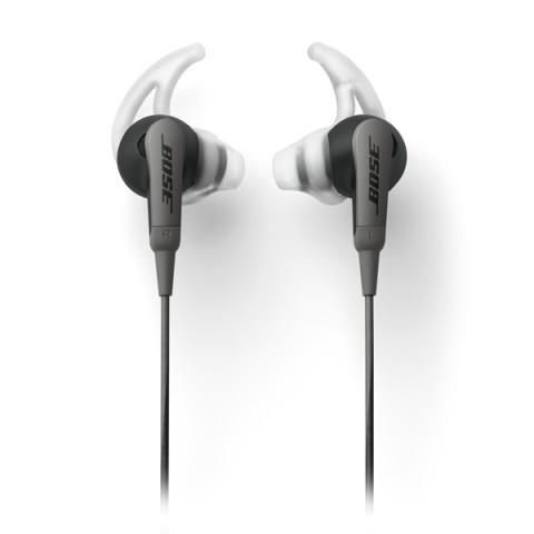 Фотография товара спортивные наушники Bose SoundSport In-Ear Charcoal Black to Android (50044148)