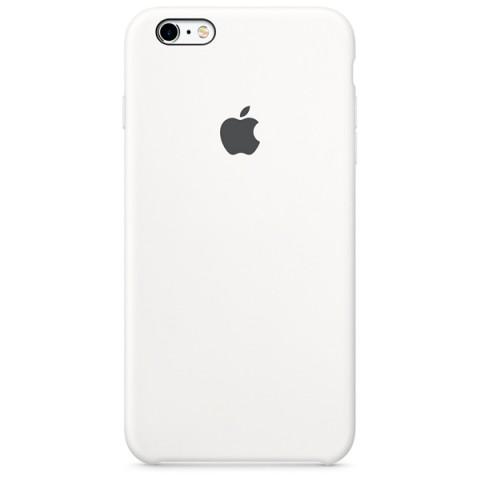 Фотография товара чехол для iPhone Apple iPhone 6s Plus Silicone Case White (50044203)