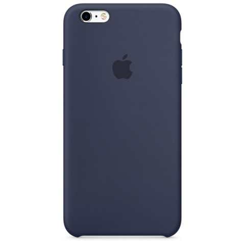 Фотография товара чехол для iPhone Apple iPhone 6s Plus Silicone Case Midnight Blue (50044204)
