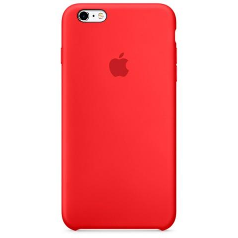 Фотография товара чехол для iPhone Apple iPhone 6s Plus Silicone Case Red (50044205)
