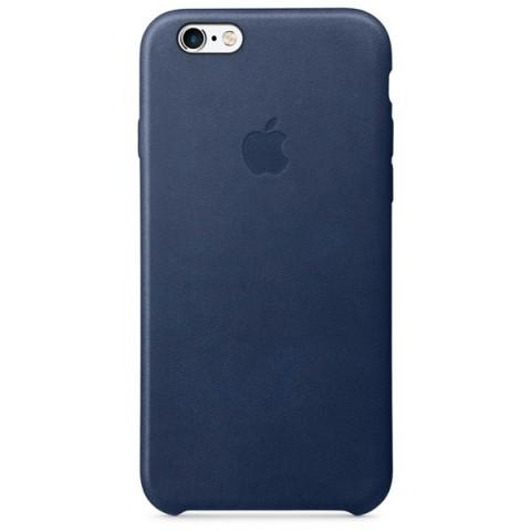 Фотография товара чехол для iPhone Apple iPhone 6/6s Leather Case Midnight Blue (50044210)