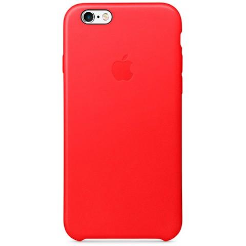 Фотография товара чехол для iPhone Apple iPhone 6/6s Leather Case RED (50044244)