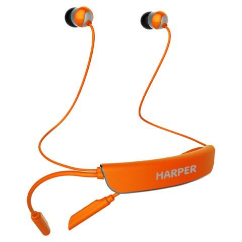 Фотография товара наушники Bluetooth Harper HB-309 Orange (50044253)