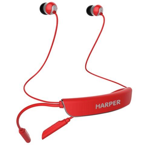 Фотография товара наушники Bluetooth Harper HB-309 Red (50044254)