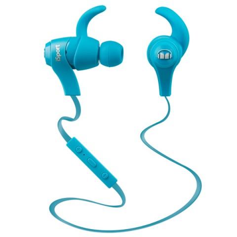 Фотография товара спортивные наушники Bluetooth Monster iSport In-Ear Blue (128659-00) (50044282)