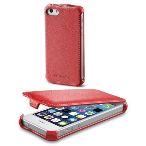 Фотография товара чехол для iPhone Cellular Line для iPhone 5s/SE (FLAPIPHONE5R) (50044436)