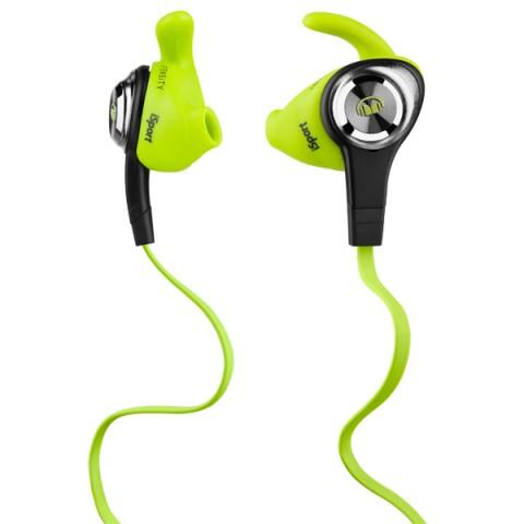 Фотография товара спортивные наушники Monster iSport Intensity In-Ear Green (137009-00) (50044437)