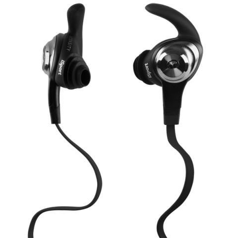 Фотография товара спортивные наушники Monster iSport Intensity In-Ear Black (137019-00) (50044438)