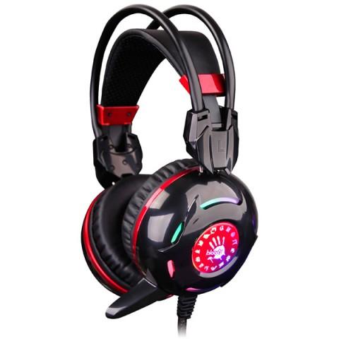 Фотография товара игровые наушники A4Tech Bloody G300 Black + Red (50044734)
