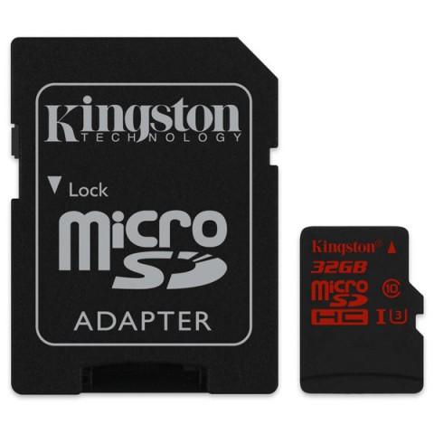 Фотография товара карта памяти SDHC Micro Kingston SDCA3/32GB (50044922)