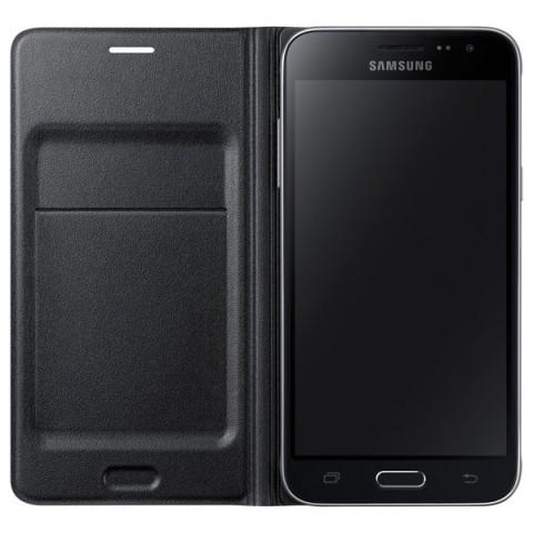 Фотография товара чехол для сотового телефона Samsung Flip Wallet J3 Black (EF-WJ320PBEGRU) (50044954)