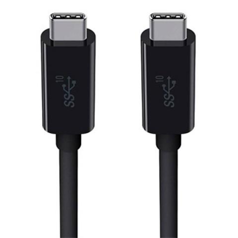 Фотография товара кабель USB Type-C Belkin 3.1 USB-C to USB-C (F2CU030bt1M-BLK) (50045021)