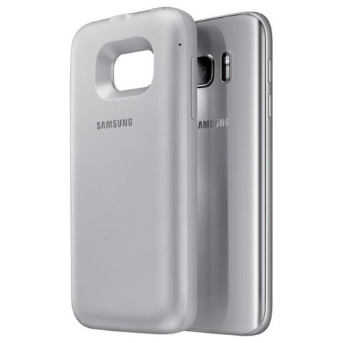 Фотография товара чехол-аккумулятор Samsung Backpack Cover S7 Silver (EP-TG930BSRGRU) (50045087)