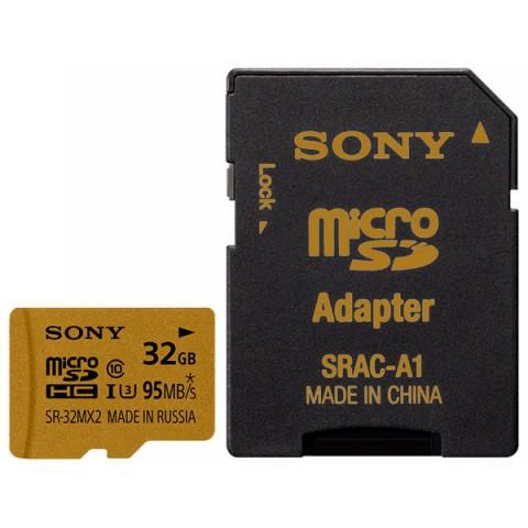 Фотография товара карта памяти SDHC Micro Sony SR-32MX2A/NT (50045360)