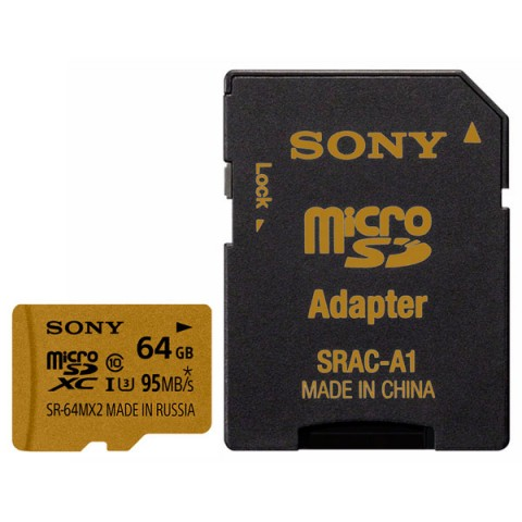 Фотография товара карта памяти SDHC Micro Sony SR-64MX2A/NT (50045362)
