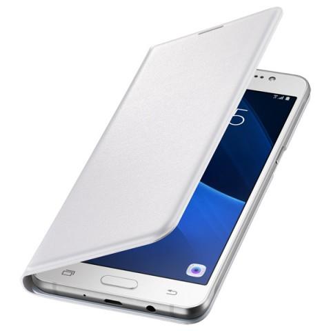 Фотография товара чехол для сотового телефона Samsung Flip Wallet J5 White (EF-WJ510PWEGRU) (50045696)