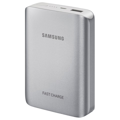 Фотография товара внешний аккумулятор Samsung EB-PG935BSRGRU Silver 10200 mAh (50046244)