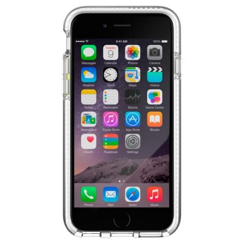 Фотография товара чехол для iPhone Tech21 T21-5001 Evo Band Clear/White (50046643)