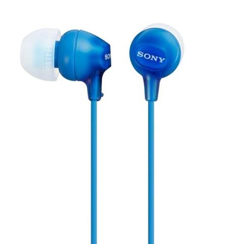 Фотография товара наушники внутриканальные Sony MDR-EX15LP Blue (50046773)