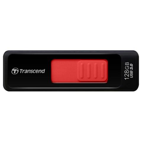 Фотография товара флеш-диск Transcend JetFlash 760 128GB черный/красный (TS128GJF760) (50047192)