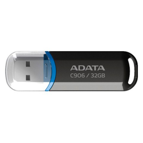 Фотография товара флеш-диск ADATA Classic C906 Black 32GB (AC906-32G-RBK) (50047408D)