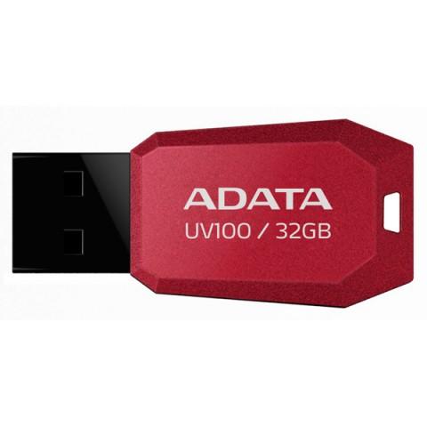 Фотография товара флеш-диск ADATA UV100 Red 32GB (AUV100-32G-RRD) (50047417)
