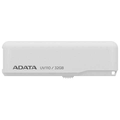 Фотография товара флеш-диск ADATA UV110 White 32GB (AUV110-32G-RWH) (50047419)