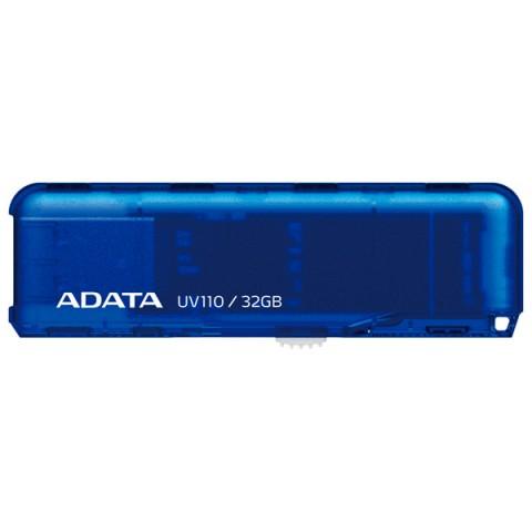 Фотография товара флеш-диск ADATA UV110 Blue 32GB (AUV110-32G-RBL) (50047420)