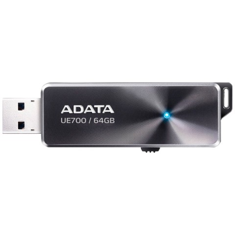 Фотография товара флеш-диск ADATA DashDrive Elite UE700 Black 64GB (AUE700-64G-CBK) (50047426)