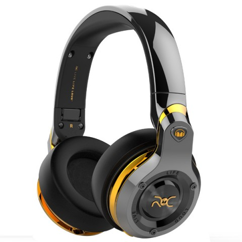 Фотография товара наушники Bluetooth Monster ROC Sport Over-Ear Black Platinum (137045-00) (50047470)