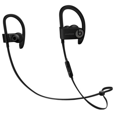 Фотография товара спортивные наушники Bluetooth Beats Powerbeats3 Wireless Black (ML8V2ZE/A) (50047895)