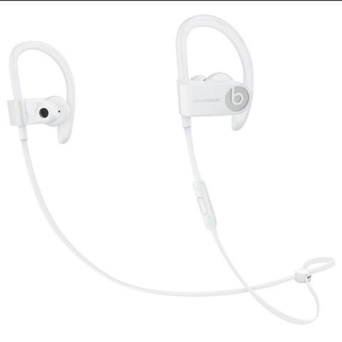 Фотография товара спортивные наушники Bluetooth Beats Powerbeats3 Wireless White (ML8W2ZE/A) (50047896)
