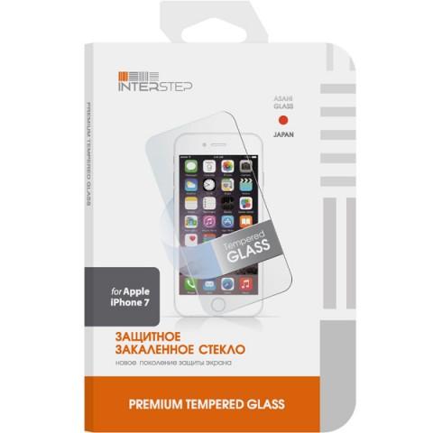 Фотография товара защитное стекло для iPhone InterStep для iPhone 7 (IS-TG-IPHON7UNI-000B201) (50047900)