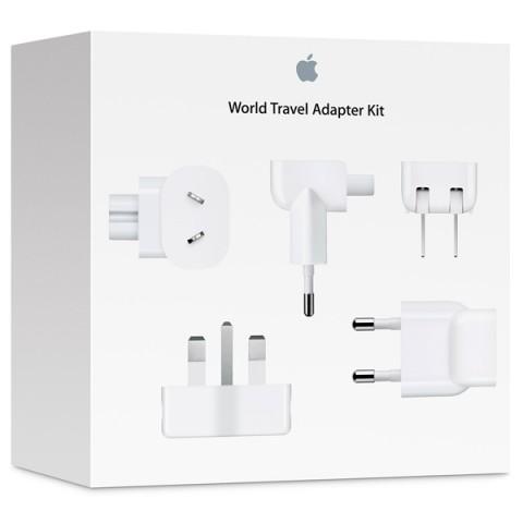 Фотография товара сетевое зарядное устройство Apple компл.адаптеров World Travel Adapt.Kit(MD837ZM/A) (50047909)